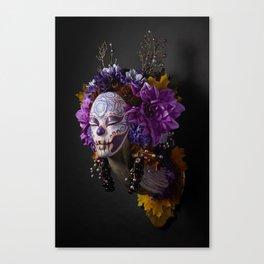 Violet Harvest Muertita Canvas Print
