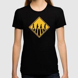 Famous Band Walk Road Sign | Design T-shirt