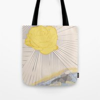 outlander Tote Bags featuring Sassanach by Katie Boland