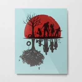 A Family Once Metal Print