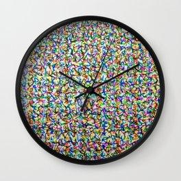 multipollock Wall Clock