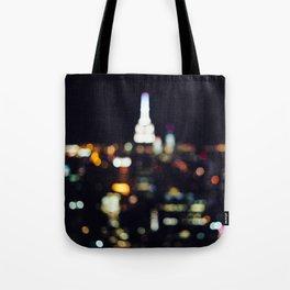 New York City Lights Tote Bag