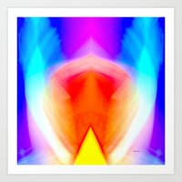 psychedelic art Art Prints featuring Psychedelic by Rafael Salazar