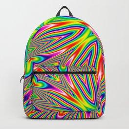 Psychedelic Rainbow Kaleidoscope Backpack