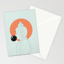 Buddha : Concentrate on the Void! Stationery Cards
