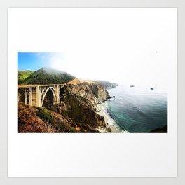 Where Land Meets Ocean Art Print