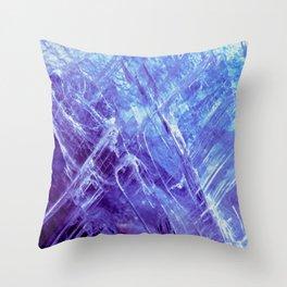 Cool Quartz Throw Pillow