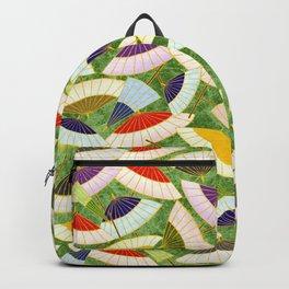Oriental parasol design Backpack
