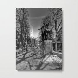 Paul Revere Mall Metal Print