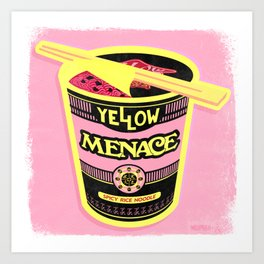 YM Noodles: Cotton Candy Art Print