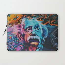 Einstein graffiti Laptop Sleeve