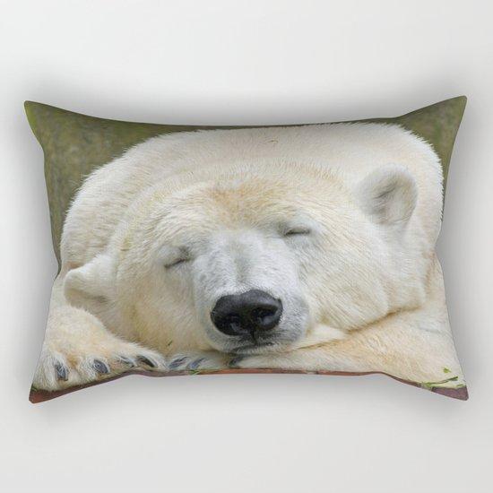 Polar Bear 003 Rectangular Pillow