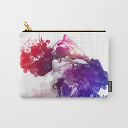 Jennifer Lawrence Watercolor Psychedelic Portrait Pepe Psyche Carry-All Pouch