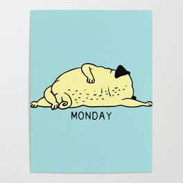 MONDAY MOOD Poster