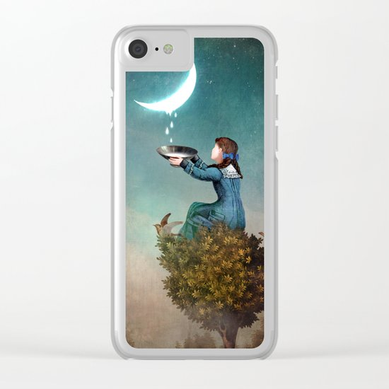 Moondrops Clear iPhone Case