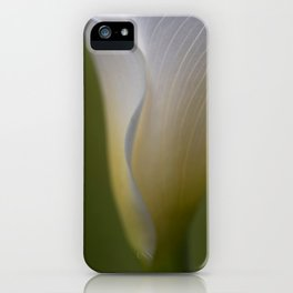 A Flower Waiting iPhone Case