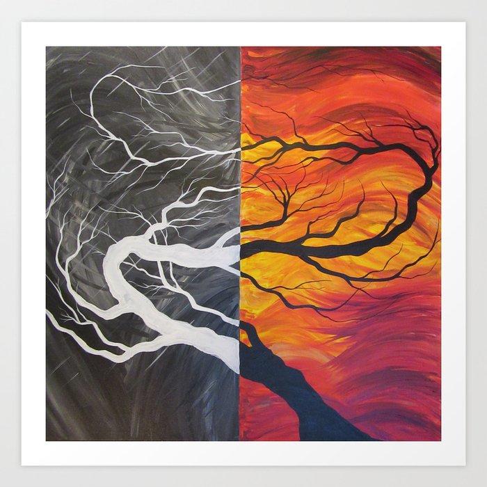 Firemass Art Print