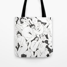 Women BW Tote Bag