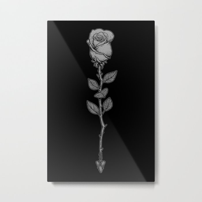 Deadly Love Metal Print