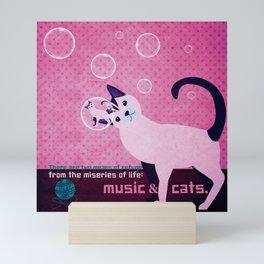 Soap bubbles 5 Mini Art Print