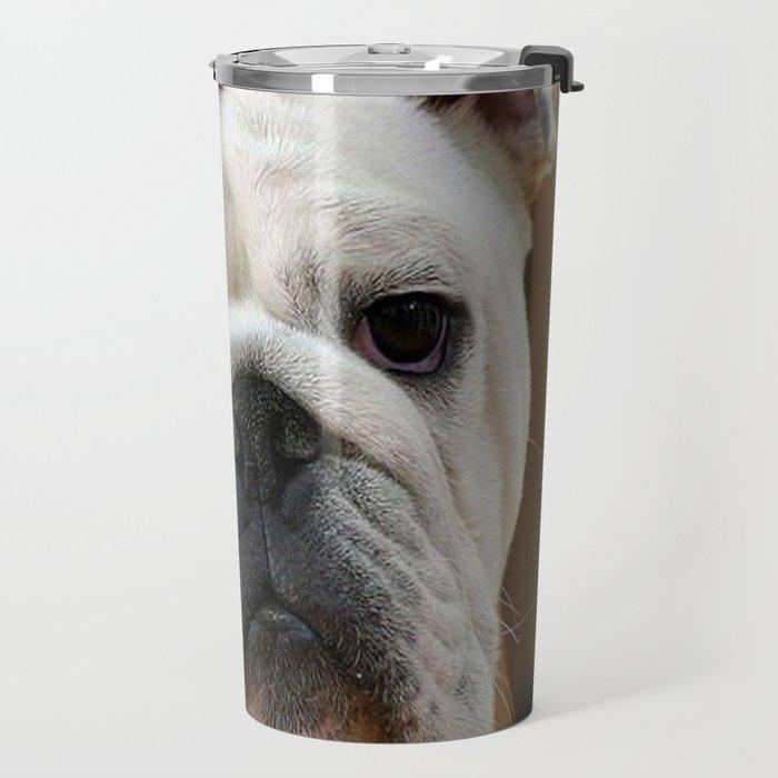 American Bulldog Travel Mug