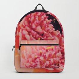 Pink Germini Close up 3 Backpack