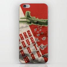 Make Love not war iPhone & iPod Skin