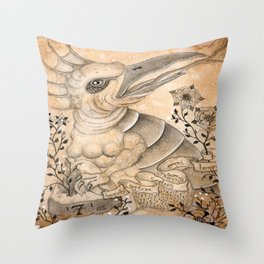 Materia III Throw Pillow