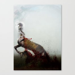The Violent Against Neighbors Canvas Print