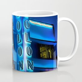 Blue Midnight - South Beach Colony Hotel landscape by Jeanpaul Ferro Coffee Mug