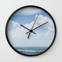Summer Beach, Cornwall Wall Clock