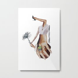 The apparently undisputed way to meet your future Metal Print