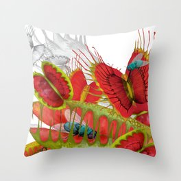 Beautiful And Deadly Throw Pillow