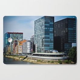 Düsseldorf, Germany Cityscape Cutting Board