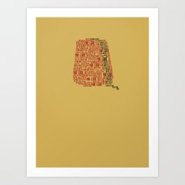 Fezzes are cool (Doctor Who) Art Print