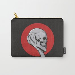 Skull Hamblet  Carry-All Pouch