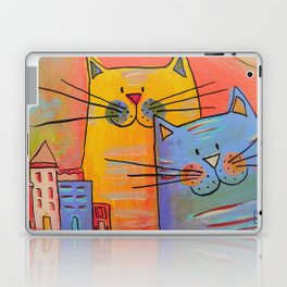 City cats Laptop & iPad Skin