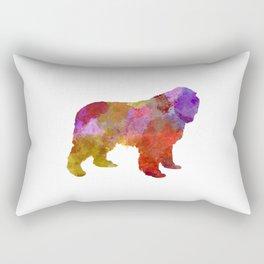 Newfoundland in watercolor Rectangular Pillow