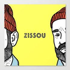 Zissou #2 Canvas Print