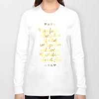 faith Long Sleeve T-shirts featuring Faith  by Perrin Le Feuvre
