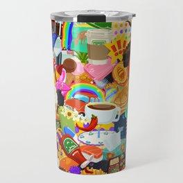 Sticker overload Travel Mug