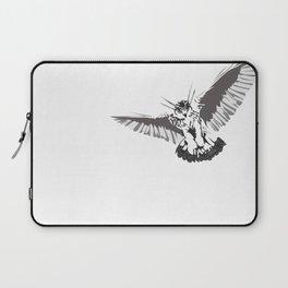 Owl of the Pheonix White Laptop Sleeve