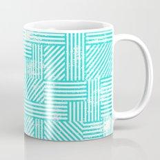 Turquoise Stripes Mug