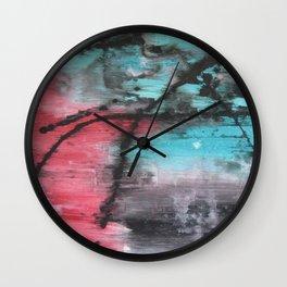 Ingrained Wall Clock