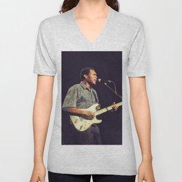 Robert Cray, Music Legend Unisex V-Neck