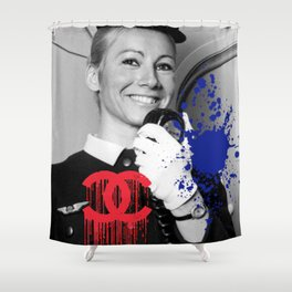 Welcome On Board Shower Curtain