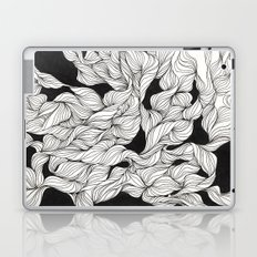 Abstract curlicues Laptop & iPad Skin