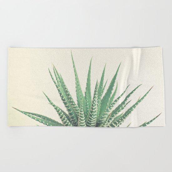 Haworthia Beach Towel