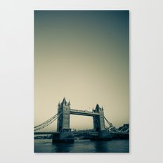 Tower Bridge at dusk Canvas Print