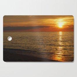 Sunset 5 Cutting Board